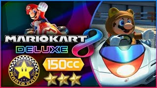 Mario Kart 8 Deluxe - Part 5   Star Cup 150cc Triple-Star! [Nintendo Switch Gameplay]