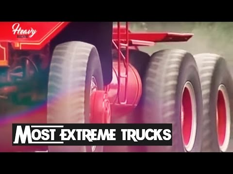 The Most Extreme Trucks in The World - 重機設備 – 중장비
