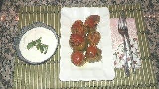 พริกยัดไส้เนื้อสับ     ( Etli biber dolması )