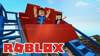 VAMOS AO PARQUE DE DIVERSÕES?! - Roblox (Roblox Point Theme Park)