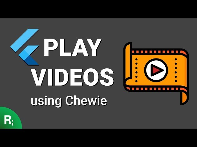 Flutter Video Player – Chewie Tutorial