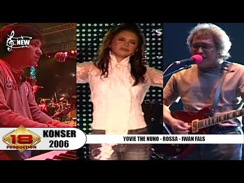 YOVIE & NUNO - IWAN FALS - ROSSA - ELLO | KOMPILASI JAKARTA FAIR 2006