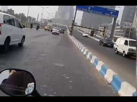 Drive on EM Bypass Kolkata - Chingrighata to Parama Flyover - Science City More on EM Bypass Kolkata