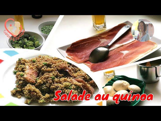 Salade Au Quinoa Petits Pois Bouquet De Brocoli