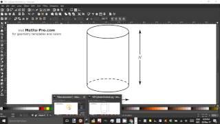 Cylinder using InkScape  Part 1