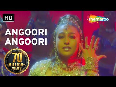 Angoori Angoori  Jaanwar Songs  Karisma Kapoor  Ashutosh Rana  Sapna Avasthi  Dance