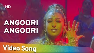Video Angoori Angoori - Jaanwar Songs - Karisma Kapoor - Ashutosh Rana - Sapna Avasthi - Dance download MP3, 3GP, MP4, WEBM, AVI, FLV Agustus 2018