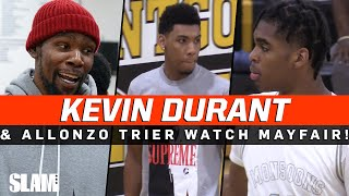 Kevin Durant & Allonzo Trier WATCH JAYGUP AND DIOR in OT THRILLER vs TOP 2021 GUARD! 😱