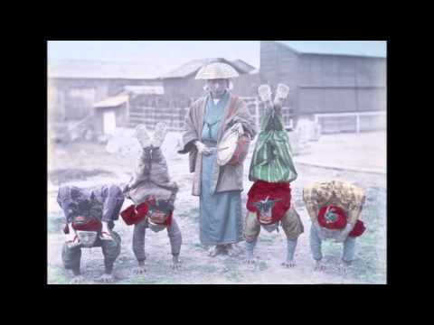 Fotos coloreadas del Japón antiguo || Hand-colored photos of old Japan