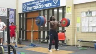 Kendrick Farris 205kg Clean and Jerk