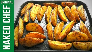 CHUNKY POTATO WEDGES How to Make easy tasty recipe