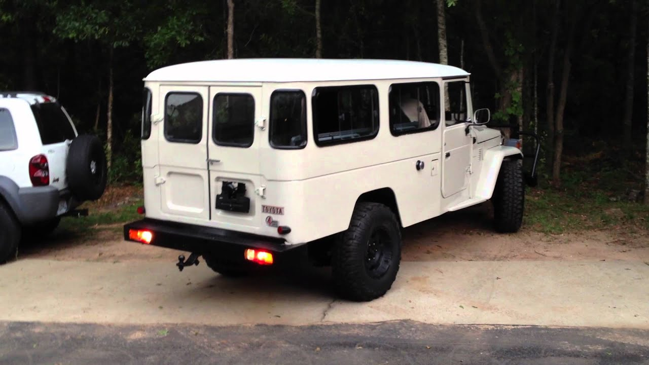 Toyota Hj 45 >> 1980 Toyota Landcruiser HJ 45 from the out back For Sale on ebay Item # 150848729678 - YouTube
