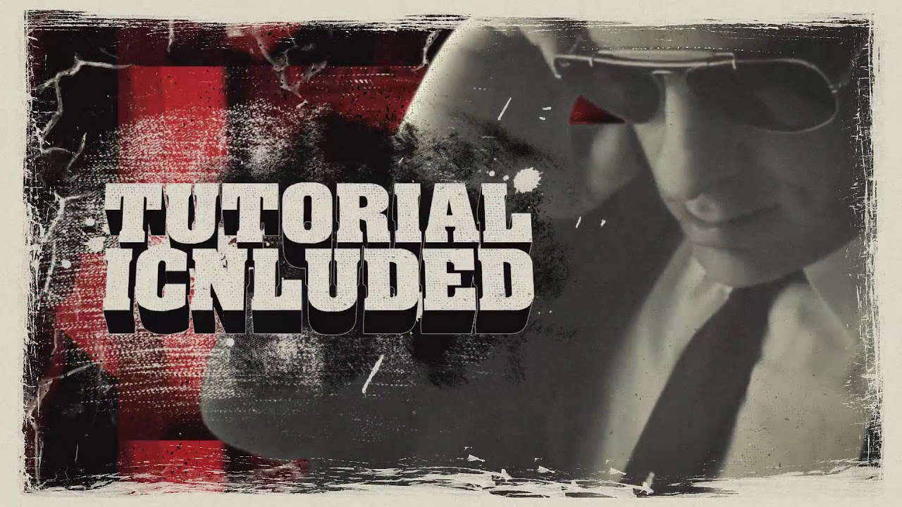 Grindhouse Trailer After Effects Template From Videohive Youtube
