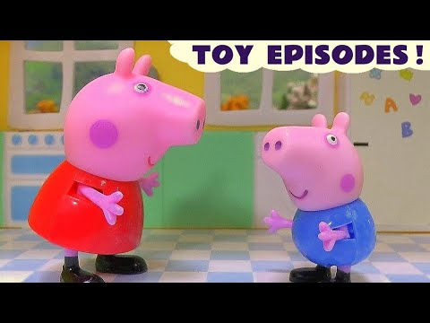 Peppa Pig Compilation of Accidents and Rescues by Thomas & Friends and Paw Patrol Toys Episodes TT4U