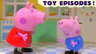 peppa pig compilation of accidents and rescues by thomas friends and paw patrol toys episodes tt4u