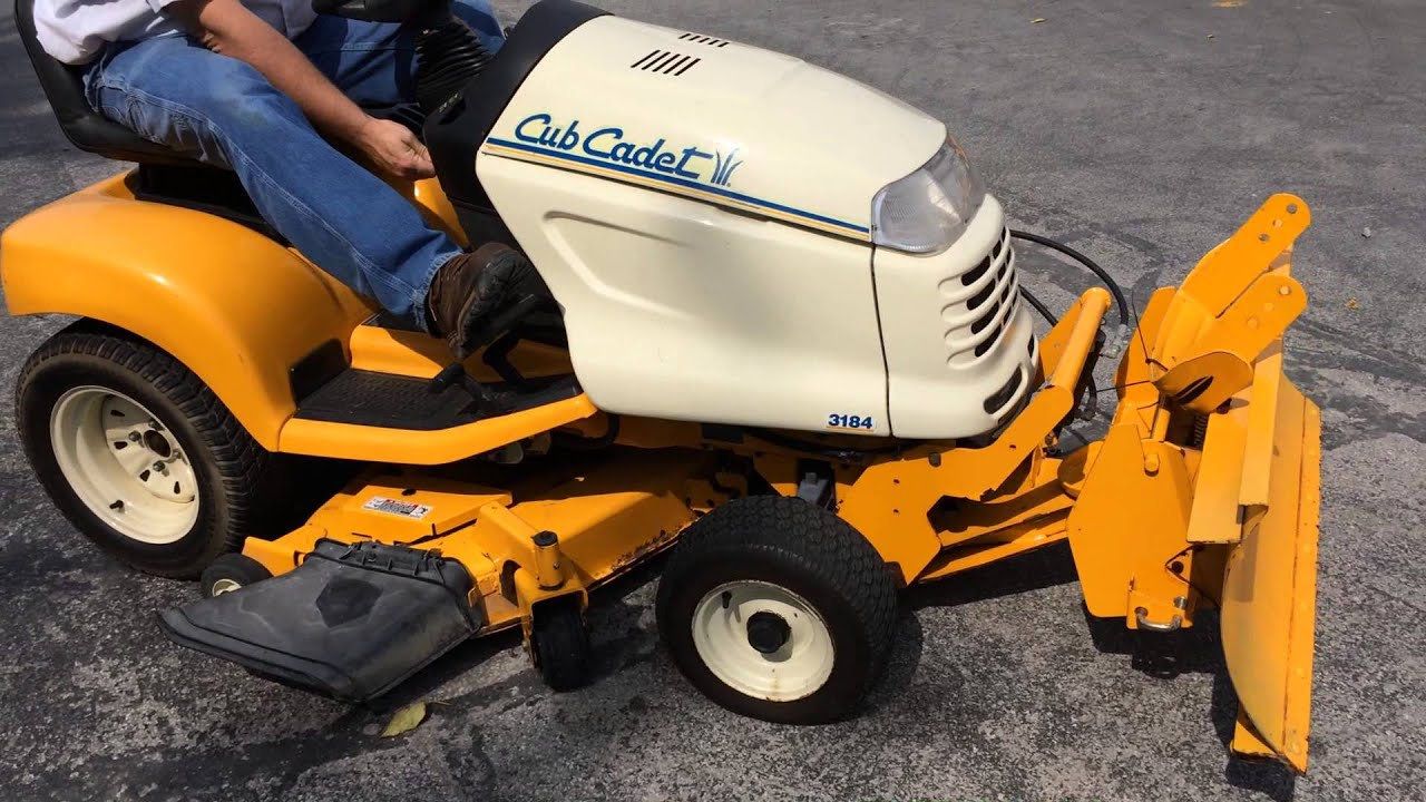 small resolution of cub cadet 3184 riding mower sold on els youtube cub cadet 3184 wiring diagram