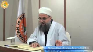 Tasavvuf Sohbeti 268.Mektup (Ali Kara Hocaefendi)