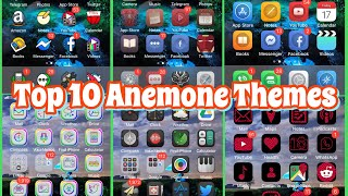 Top 10 Best Anemone Themes Compatible with iOS 11/12 - 12.1.2 Jailbreak