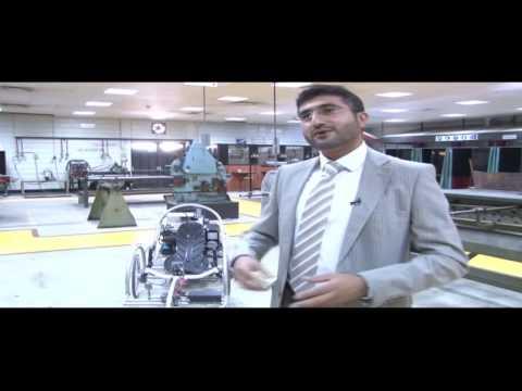 Hydrogen Fuel Cell Car Bahrain Design