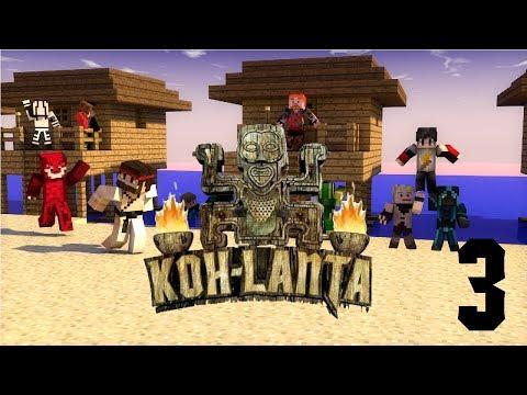 Koh Lanta Minecraft Ep.3 : Epreuves océaniques !