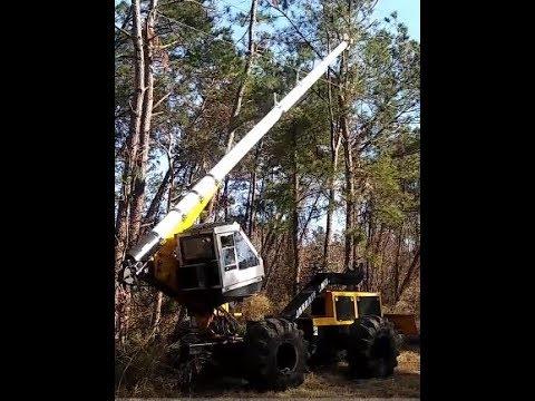 Jarraff Tree Cutting Machine