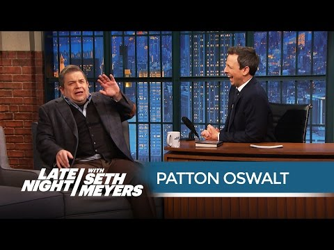 Patton Oswalt Discusses the Proper Way to Watch Star Wars Movies - Late Night with Seth Meyers