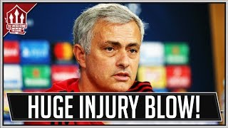 MOURINHO Press Conference Reaction! Alexis Sanchez Injury Blow! Man Utd News Now