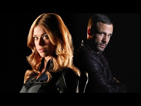 Agents of SHIELD  Adrianne Palicki, Nick Blood Season 3   ComicCon 2015