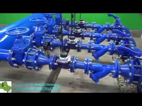 Строительство водозаборного узла (ВЗУ) и опуск скважинного насоса большой производительности