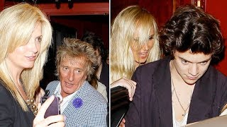 Harry Styles Has A Wild Night In Hollywood With Rod Stewart And Daughter Kimberly [2013]