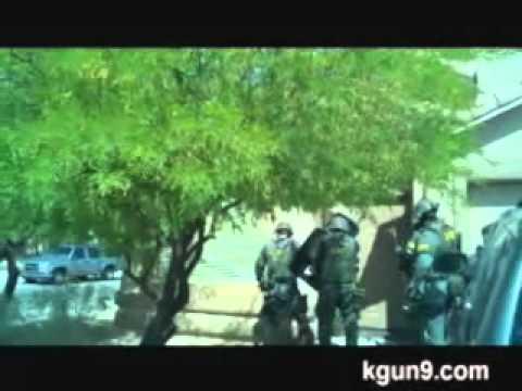 Jose Guerena SWAT Raid Video From Helmet Cam