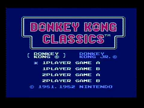 Donkey Kong [PAL - Game A] - 278,300 Points *World Record*