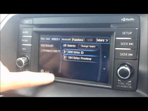 How to Set Up Your Sirius Satellite Radio Free Trial in a Mazda Vehicle