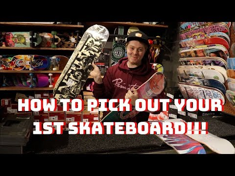 PICKING YOUR FIRST SKATEBOARD AT ZUMIEZ!!! | Skate How To