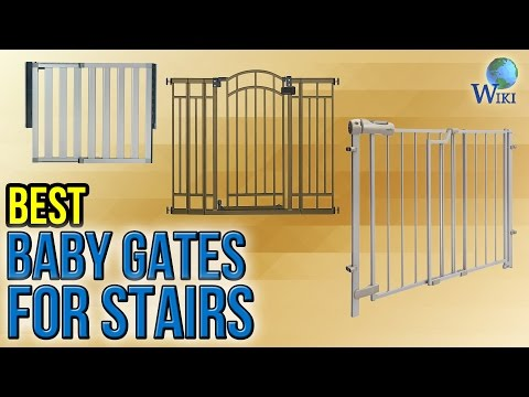 10 Best Baby Gates For Stairs 2017   YouTube