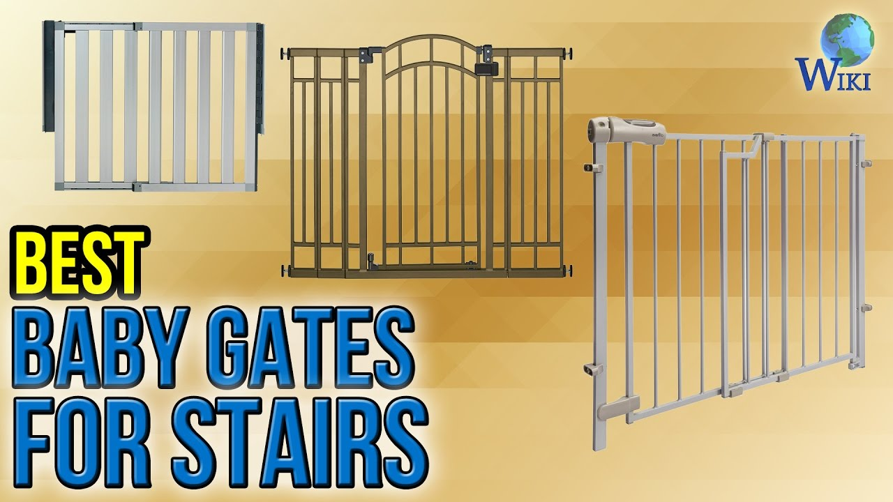 Exceptionnel 10 Best Baby Gates For Stairs 2017