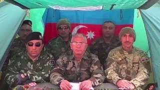 ветераны Карабахской войны Aзербайджана
