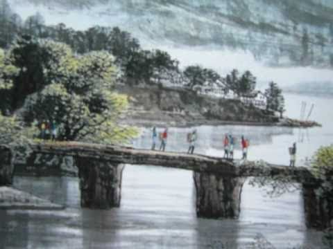 Landscape – Chinese Brush Painting Inspiration- The Chinese Arts.
