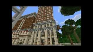 minecraft square tower showcase