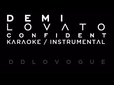 Demi Lovato - Confident [ Karaoke / Instrumental ]