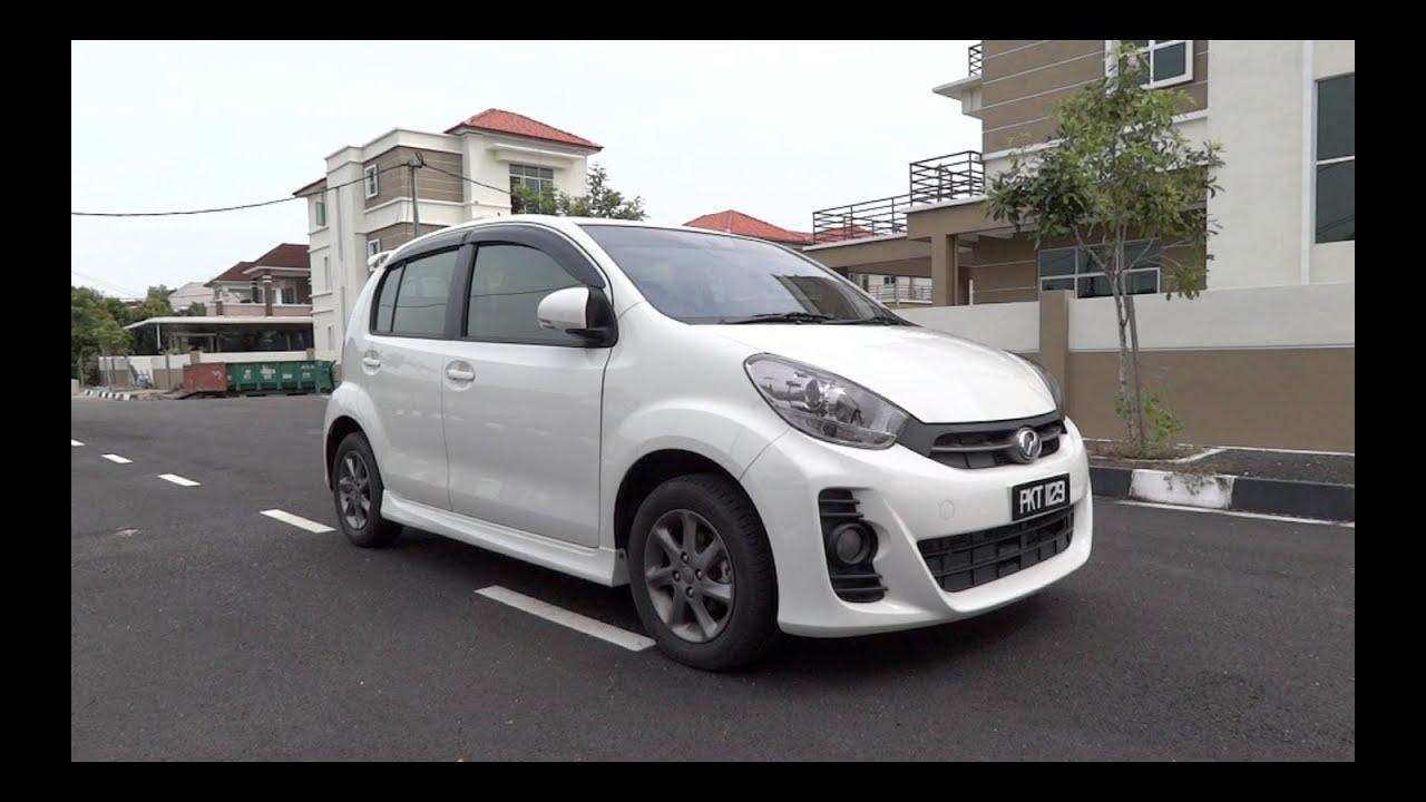 2012 Perodua Myvi 1.5 SE Start-Up, Full Vehicle Tour, and