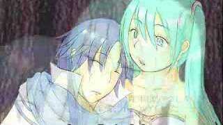 [KAITO]  Murasaki no mori - The Purple Forest  [HATSUNE] (spanish subs, MP3 and lyrics) [VOCALOID]