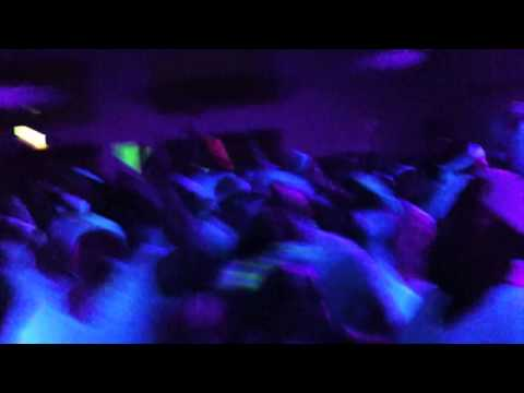 DJ Perly's point of view of The CIA BLACK LIGHT DANCE.