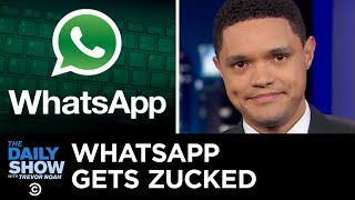 Howard Schultz's 2020 Bid, a Facebook-WhatsApp Merger & Peace Talks in Afghanistan | The Daily Show