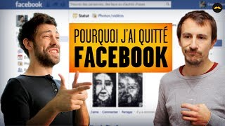 Pourquoi j'ai quitté Facebook | Why I left Facebook (Adrien Ménielle) thumbnail