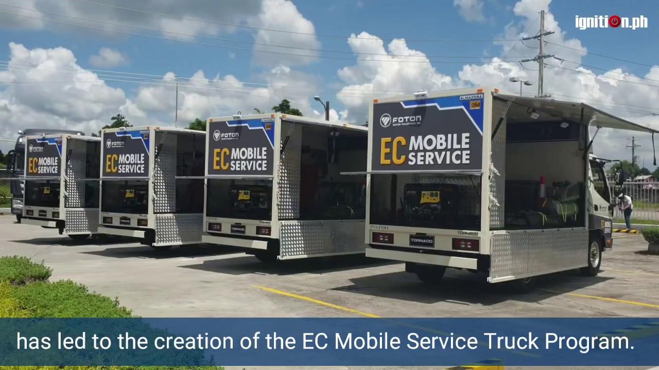 Foton EC Mobile Service Launch