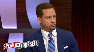 Chris Broussard on Carmelo's future, Allen's scuffle with Young | NBA | SPEAK FOR YOURSELF