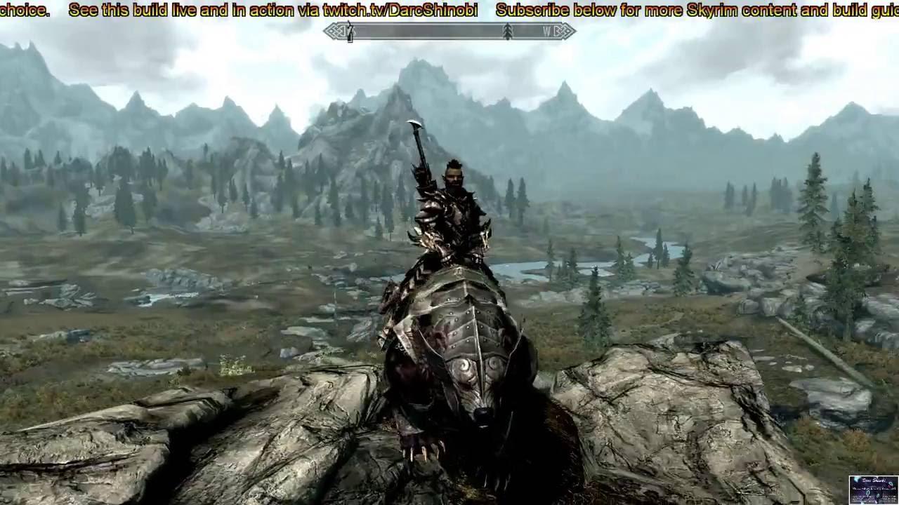 Best Hunter Build Skyrim