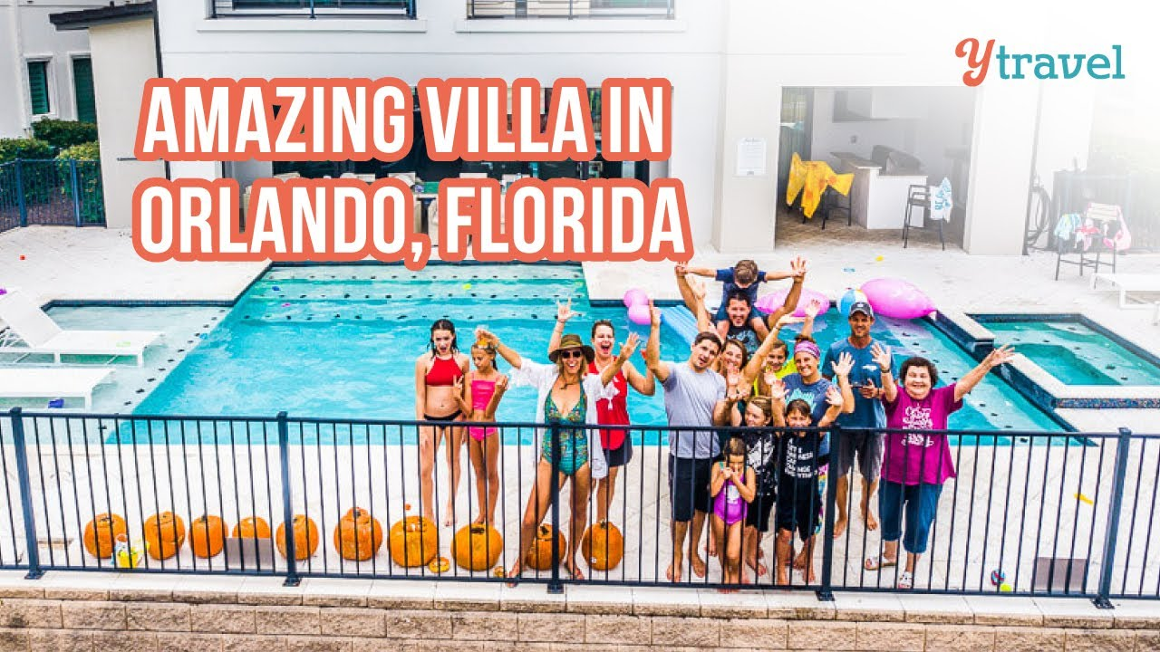 20 Friends and 7 Days of Fun in a Orlando Vacation Home Near Disney