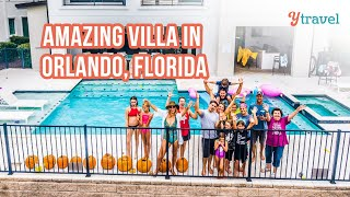 20 friends and one BIG Orlando Vacation home near Disney World